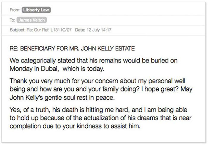 Email Exchange With A Scammer Turned Into A Hilarious Story