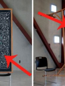 Smart Chalkboard Graffiti Prank
