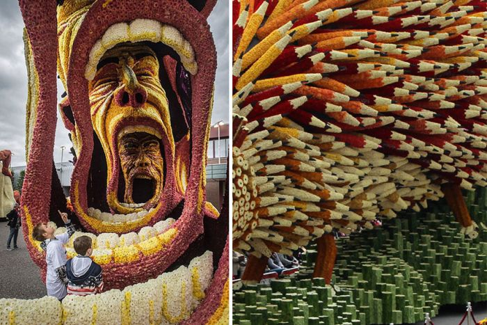 World's Largest Flower Parade In The Netherlands