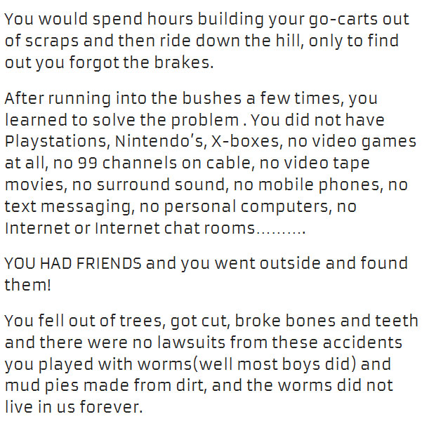 What Growing Up Before The 90s Was Like