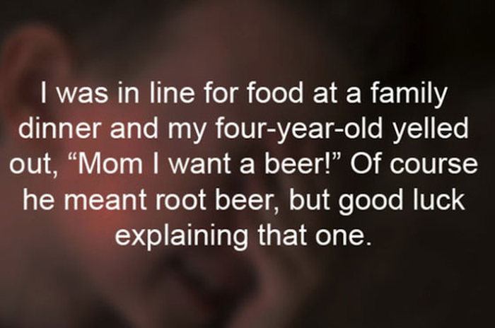 Kids Embarrass Their Parents