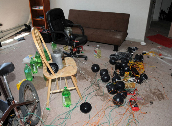 Inside The Apartment of Aurora Shooter James Holmes