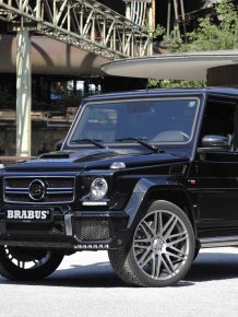 850 horse power Mercedes Brabus G63 Widestar