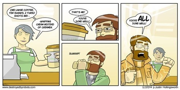 Webcomics That Every Coffee Addict Can Relate To