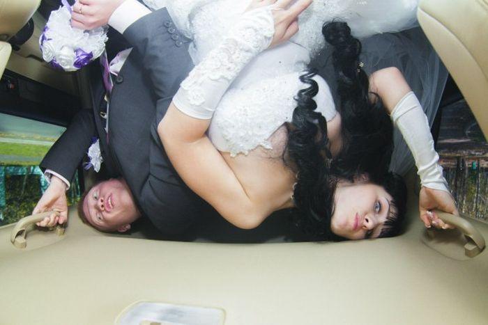 Awkward Russian Wedding Photos