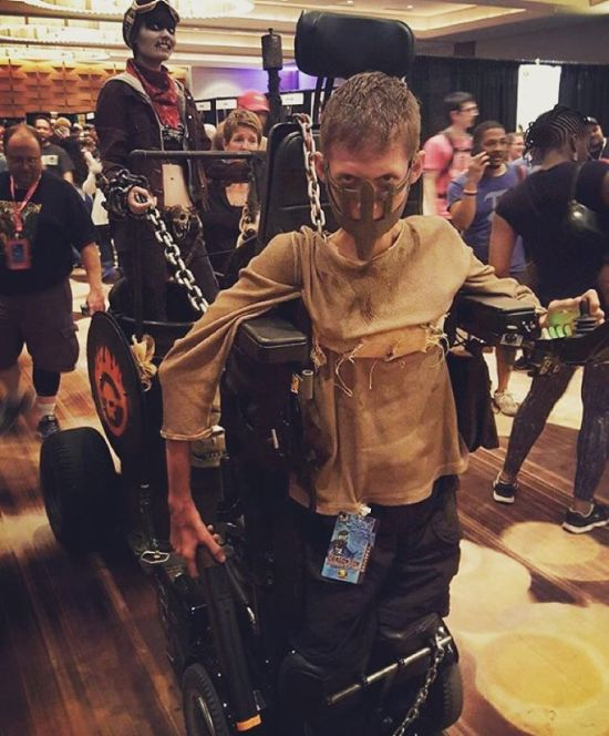 This Disabled Student Used His Wheelchair To Make An Epic Mad Max Cosplay