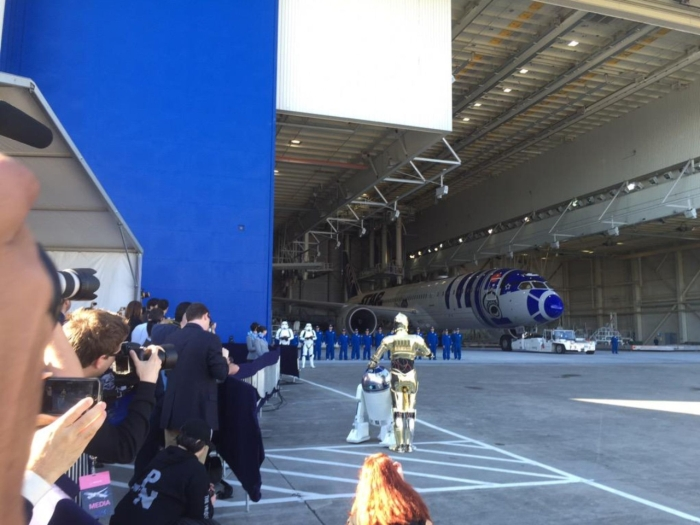 New Japanese Aircraft Debuts With A Star Wars Theme