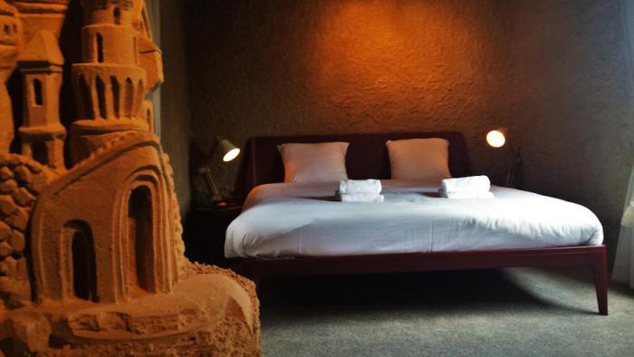 You Can Spend A Night In This Giant 60 Room Sand Castle