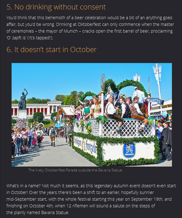 10 Fun Facts You Need To Know About Oktoberfest