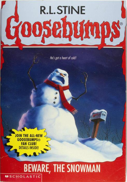 Time To Get Nostalgic With Some Old School Goosebumps Covers