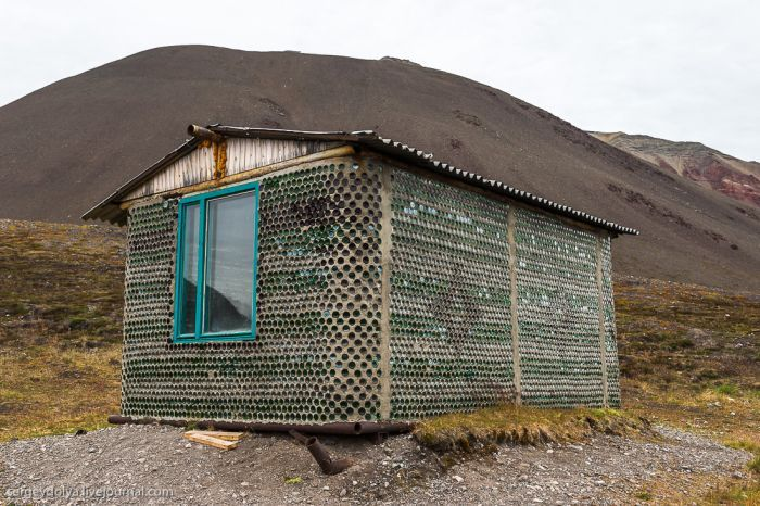 This Unusual House Is Made Out Of Empty Bottles