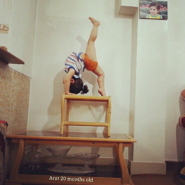 Two Year Old Kid Is Already A World Class Gymnast