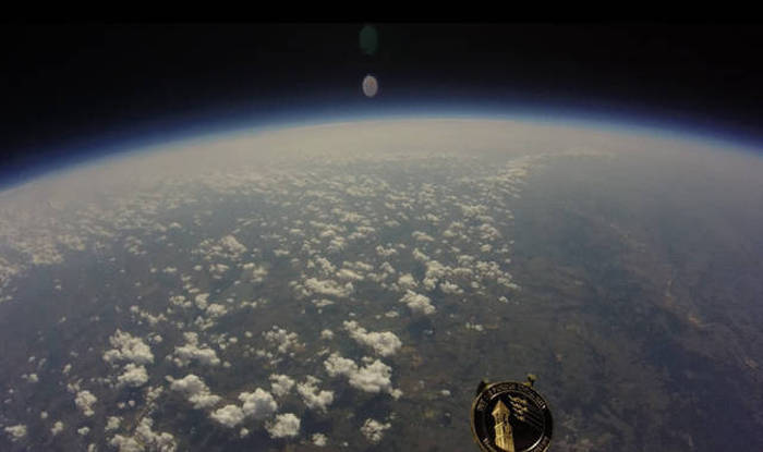 GoPro Camera Floats All The Way Up To Outer Space