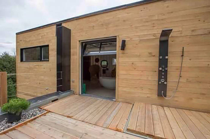 Man Builds Impressive Home Out Of Shipping Containers