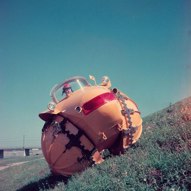 The 1957 Aghnides Rhino Is Truly An All Terrain Vehicle