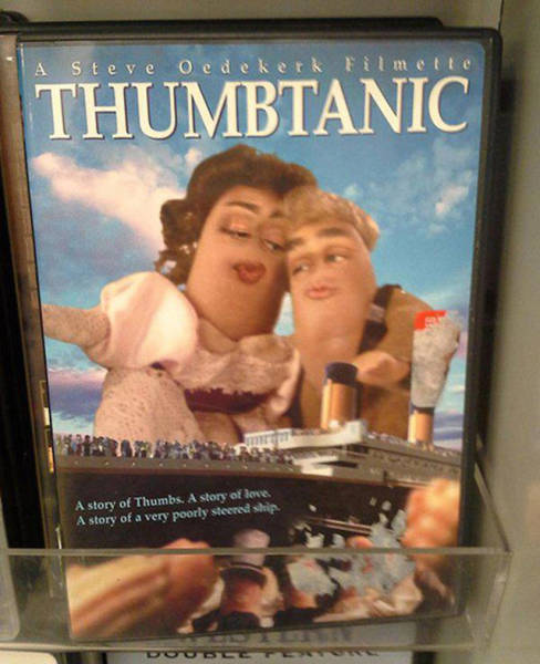 You Never Know What Kind Of Stuff You're Going To Find At The Thrift Shop