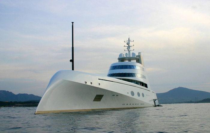 russian billionaire unveils massive 300 foot tall yacht