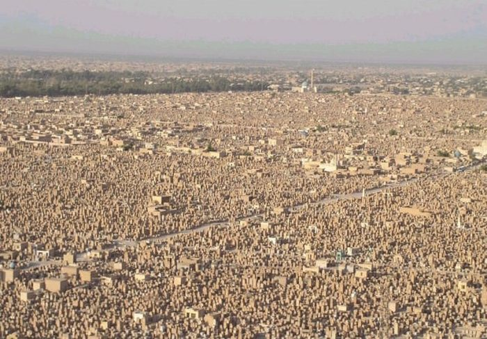 Over 5 Million Bodies Rest In The World's Largest Cemetery