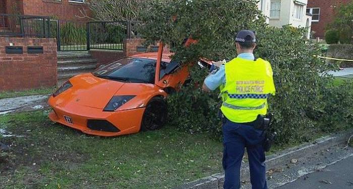 Lamborghini Test Drive Goes Horribly Wrong