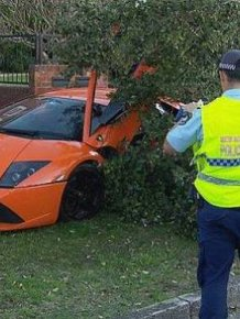 Lamborghini Test Drive Goes Horribly Wrong
