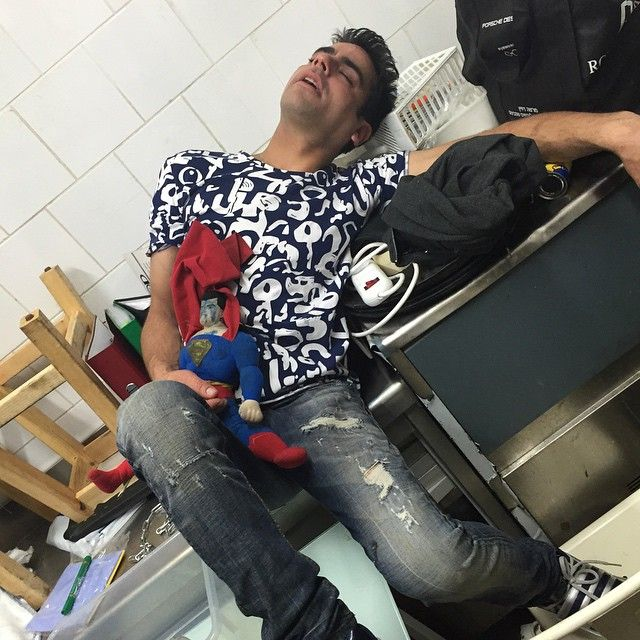Meet The Alcoholic Boss That Falls Asleep In Awkward Places