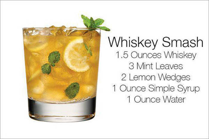 Whiskey Is The Main Ingredient In These Delicious Alcoholic Drinks
