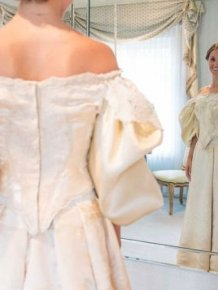 See The Wedding Dress That's Been Worn By 11 Generations Of Brides