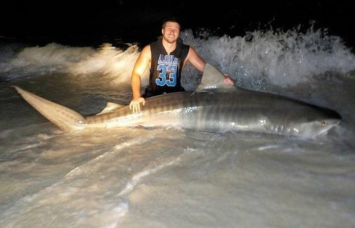 Meet The Teen That Catches Massive Sharks