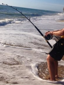 Meet The Teen That Catches Massive Sharks