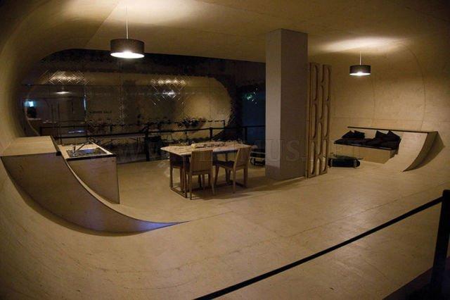 Skaters' Dream Home