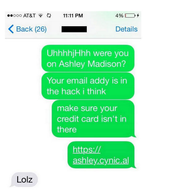 Woman Questions Her Cheating Ex About The Ashley Madison Hack