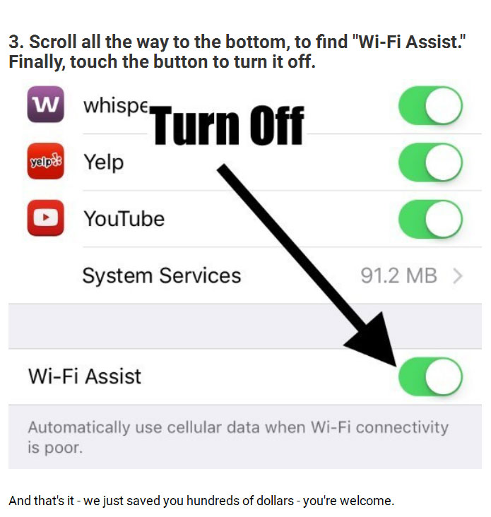 How To Prevent Your iPhone Bill From Going Sky High