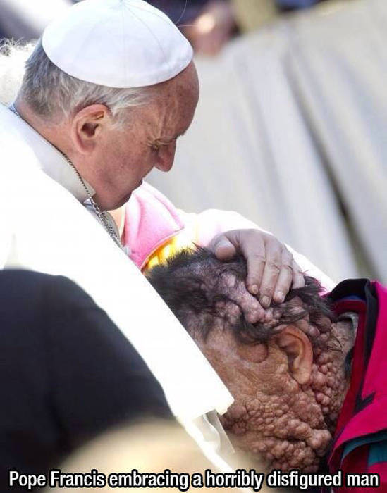 Pictures That Prove Pope Francis Is A Real Saint