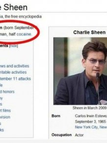 Spot On Celebrity Descriptions From Wikipedia