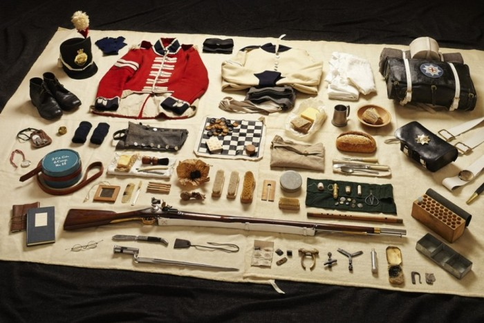 Tom Atkinson Presents Soldier Kits From Back In The Day And Today