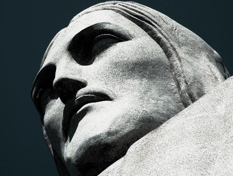 Statue of Christ Redeemer in Rio de Janeiro, Brazil