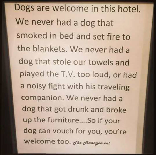 A Little Hotel Humor To Make Your Stay More Hilarious