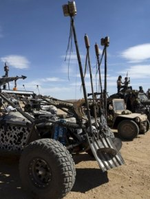 Wasteland Weekend 2015 Looks Like A Scene Of Out Mad Max