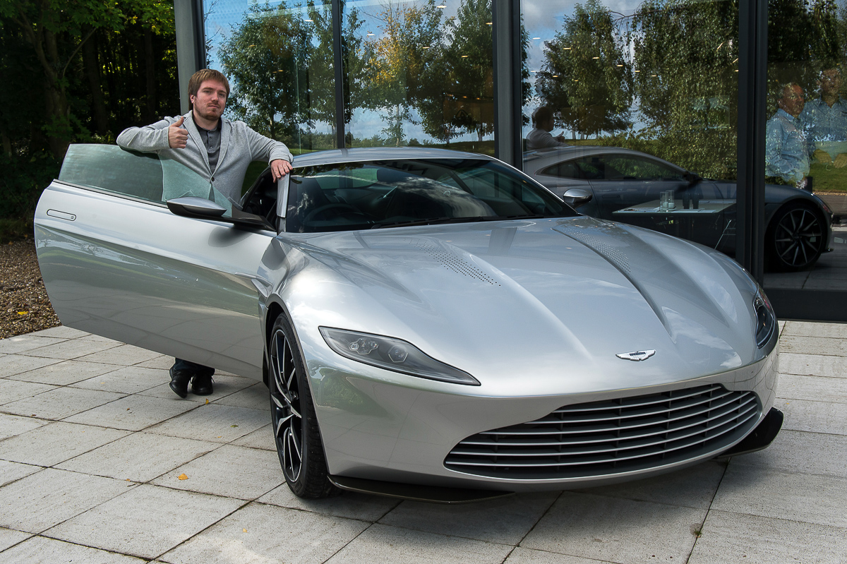 The New Car Of James Bond Aston Martin Db10 Vehicles