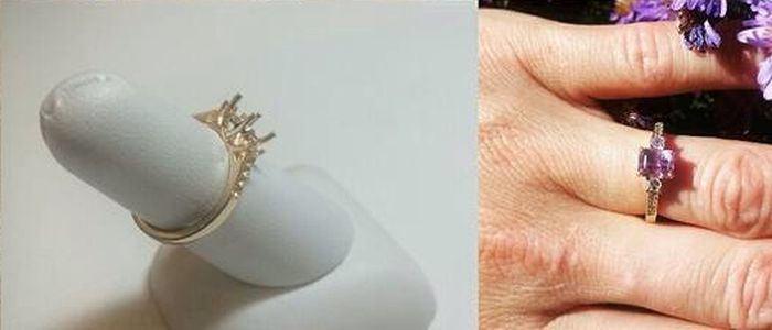 Man Digs Up Gold And Creates Custom Engagement Ring For His Fiance