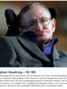 These Are The Top 10 Highest IQs in Human History