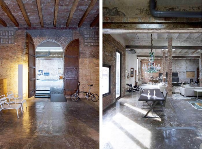 From a Warehouse to a Modern Loft