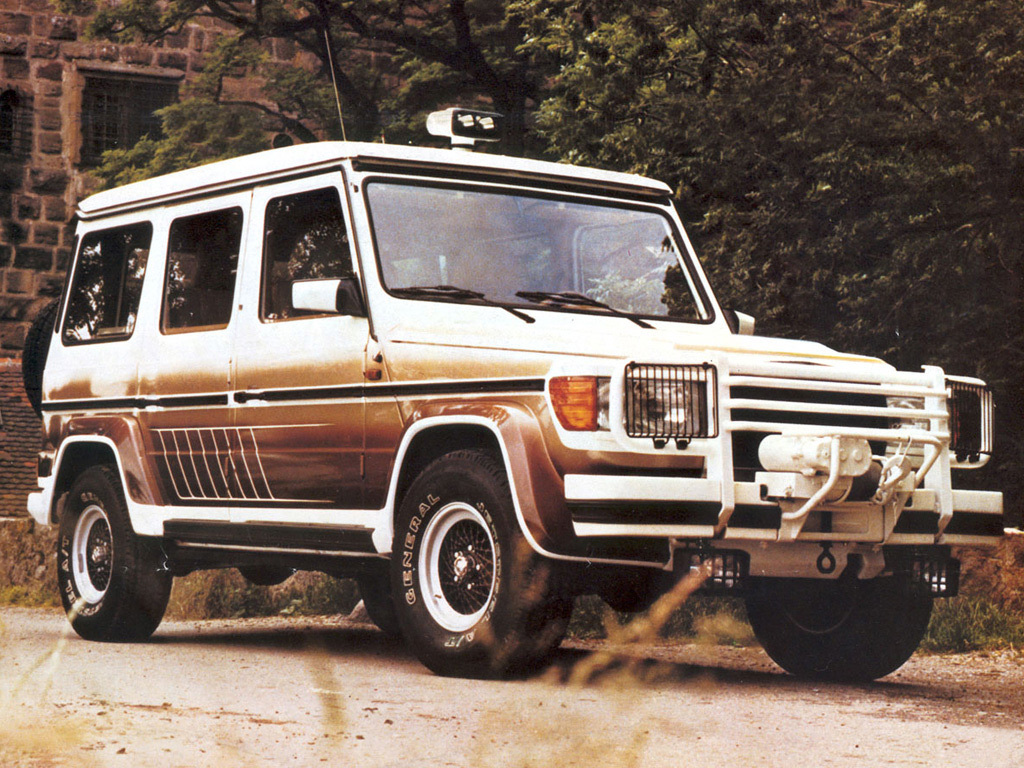 Mercedes-Benz Gelandewagen development over the years