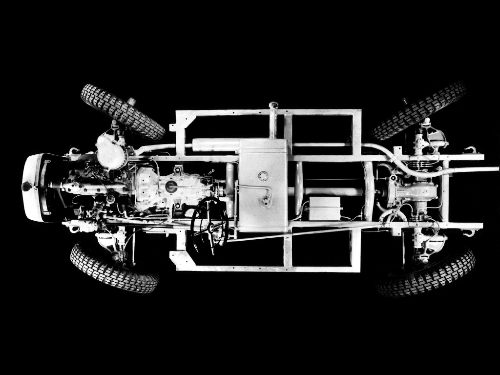 Mercedes-Benz Gelandewagen development over the years