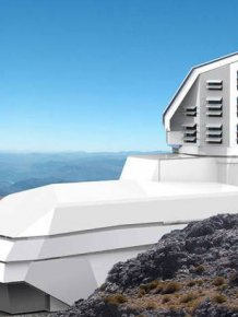Massive Camera Being Built On A Mountain Top Will Be The Largest In The World