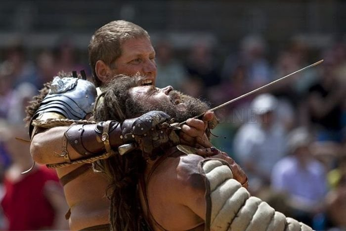 Gladiator Fighting in London