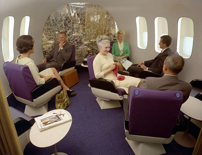 This Is What First Class Looked Like In The 50s