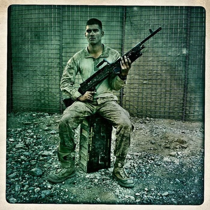 Awesome Afghanistan War Photography Using The Hipstamatic