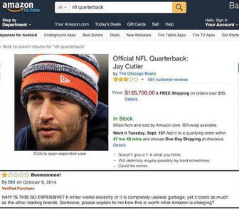 If People Could Review NFL Quarterbacks On Amazon