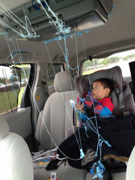 Pictures That Prove Little Kids Are Completey Insane